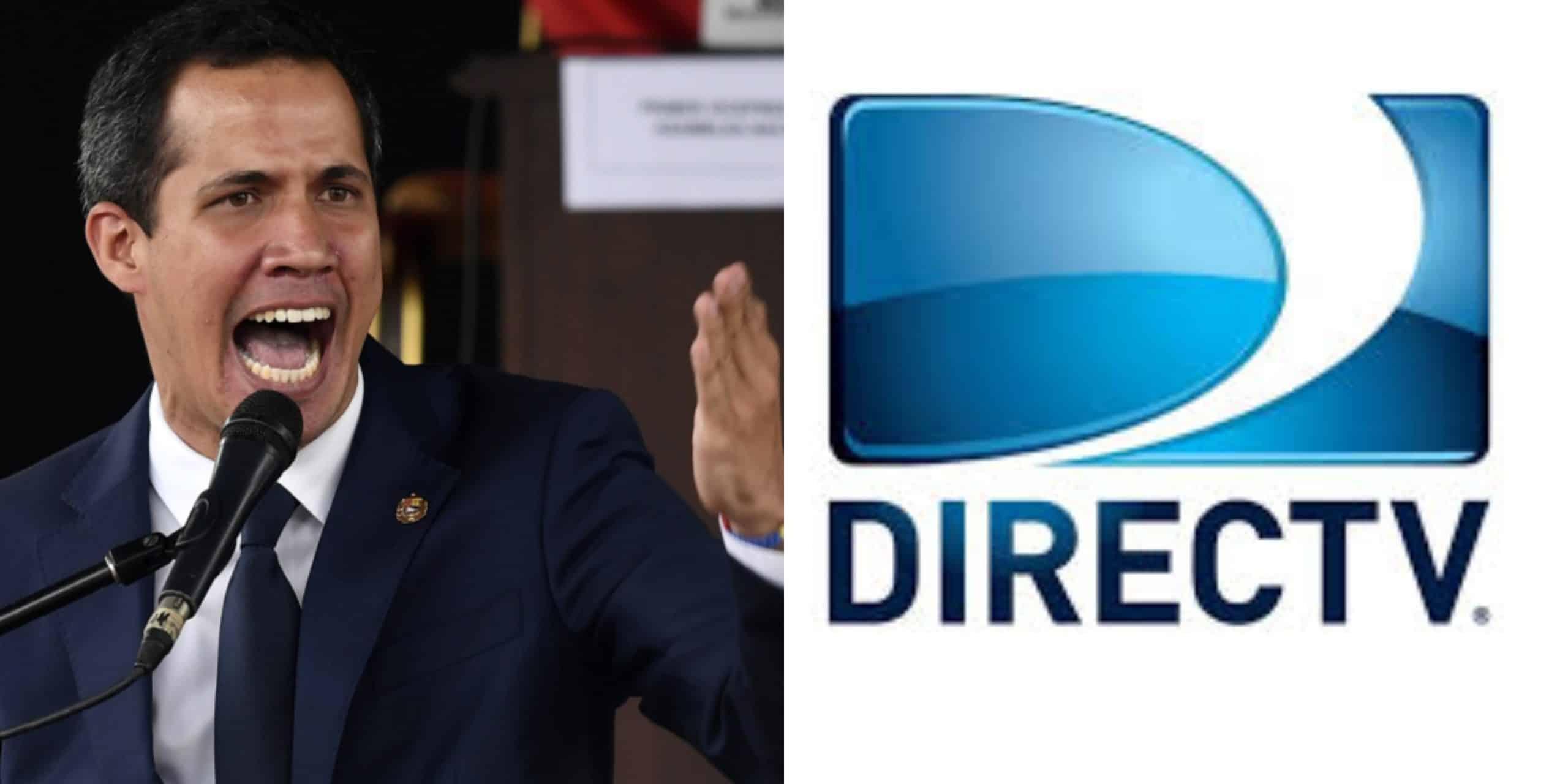 """Guaidó: """"Régimen roba equipos de Directv y amenaza a sus trabajadores"""" - mayo 22, 2020 7:13 pm - NOTIGUARO - Nacionales"""