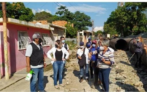 En Aragua: Comisión de la AN inspecciona zonas afectadas por las lluvias - octubre 26, 2020 8:14 pm - NOTIGUARO - Nacionales