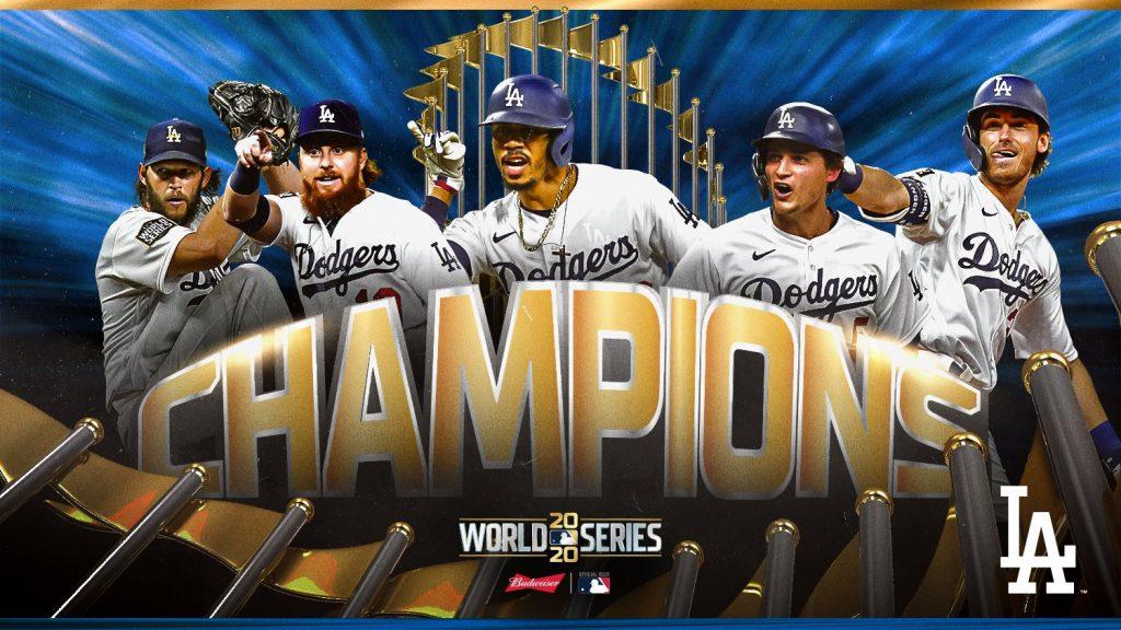Dodgers de Los Ángeles se titularon campeones de la Serie Mundial 2020 - octubre 28, 2020 8:24 am - NOTIGUARO - Deporte