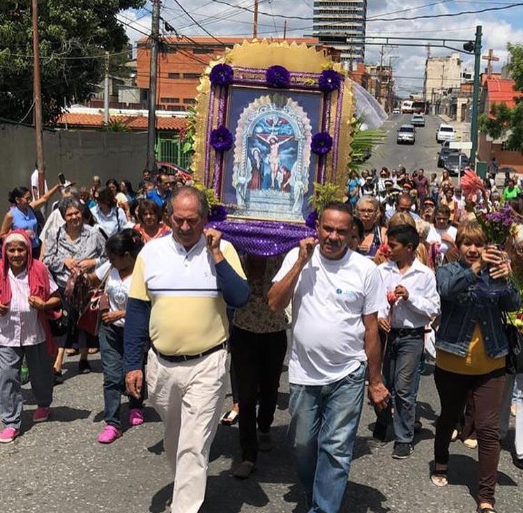 """""""Devoción y Fe"""": El Señor de Los Milagros llegó desde Perú a proteger a toda Venezuela - octubre 29, 2020 6:17 pm - NOTIGUARO - Locales"""