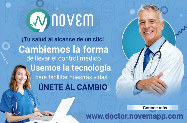 """""""App de tecno/salud"""": Novemapp tu nuevo aliado en telemedicina a nivel mundial - octubre 12, 2020 8:20 pm - NOTIGUARO - Salud"""