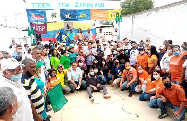 Lara: Edgar Zambrano juramentó comando municipal para la Consulta Popular en Carora - noviembre 1, 2020 2:25 pm - NOTIGUARO - Locales