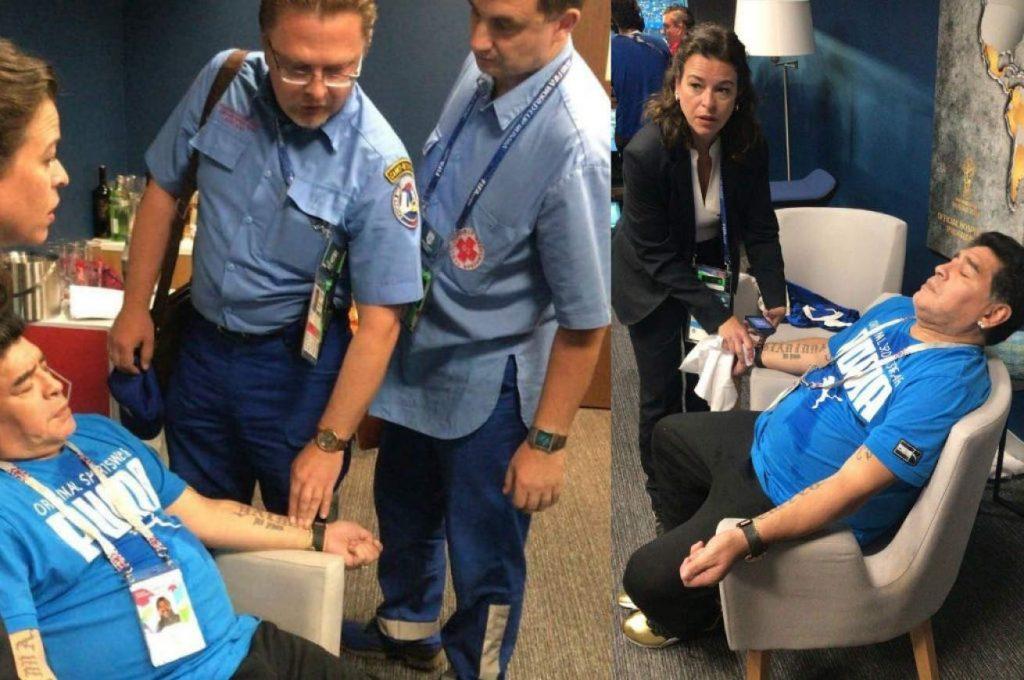 Hospitalizan a Diego Maradona en Argentina - noviembre 2, 2020 8:18 pm - NOTIGUARO - Deporte