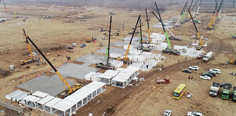 China construye en 5 días un hospital para pacientes con covid-19 por aumento de casos - enero 16, 2021 8:53 pm - NOTIGUARO - Internacionales