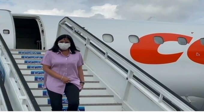 """Delcy Rodríguez arribó a Cuba para presentar la """"Ley Antibloqueo"""" este #16Ene - enero 16, 2021 9:05 pm - NOTIGUARO - Nacionales"""