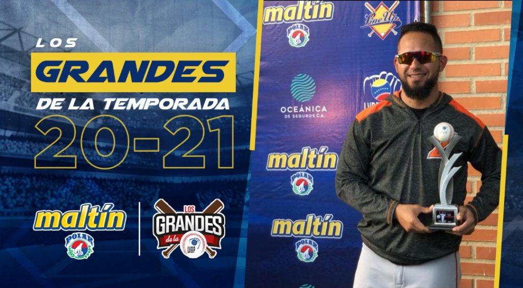 """Premio """"Los Grandes de la Temporada"""" fue entregado a los mejores jugadores de la LVBP - enero 30, 2021 11:55 am - NOTIGUARO - Deporte"""