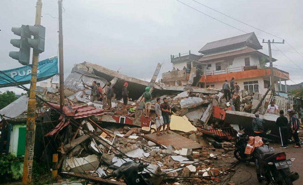 Más de 26 muertos y cientos de heridos tras terremoto de 6.2 en Indonesia - enero 15, 2021 9:04 am - NOTIGUARO - Internacionales