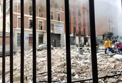 Al menos 2 muertos tras fuerte explosión que destrozó un edificio en el centro de Madrid (FOTO+VIDEOS) - enero 20, 2021 11:24 am - NOTIGUARO - Internacionales