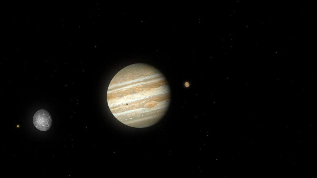 La NASA detectó una señal de radio procedente de Ganimedes, una de las lunas de Júpiter - enero 12, 2021 11:39 am - NOTIGUARO - Internacionales