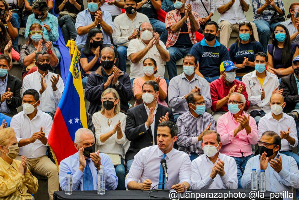 """""""Saben muy bien dónde encontrarnos"""": Así respondió Guaidó a quienes amenazan con detenerlo - febrero 6, 2021 8:00 am - NOTIGUARO - Nacionales"""