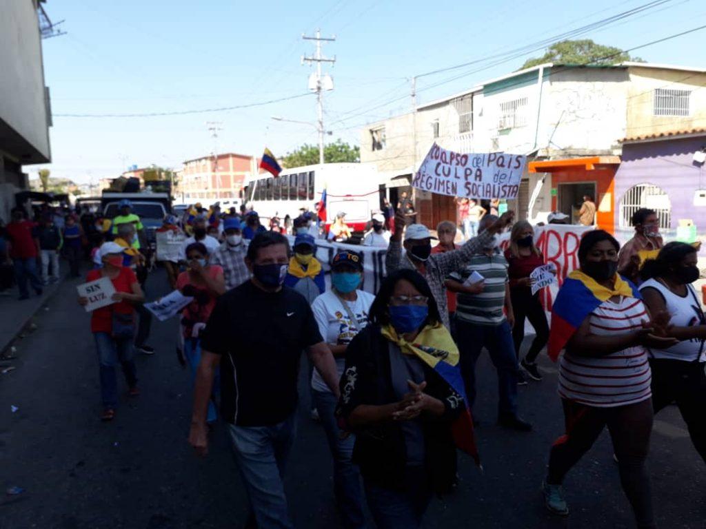 """Alfredo Ramos: """"El pueblo está en la calle, la protesta es por hambre"""" - febrero 2, 2021 3:02 am - NOTIGUARO - Locales"""