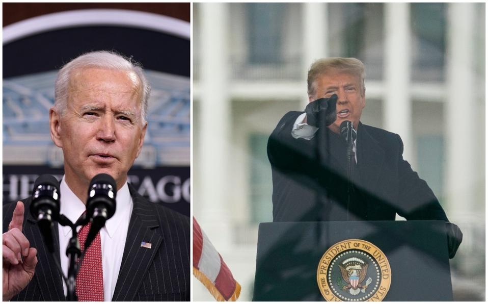 """Biden se pronunció tras absolución de Trump: """"La democracia es frágil"""" - febrero 14, 2021 10:52 pm - NOTIGUARO - Internacionales"""