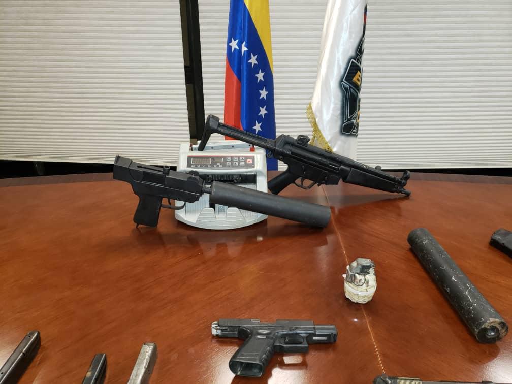 En La Guaira: Incautan armas de fuego y municiones de diferentes calibres - febrero 7, 2021 9:30 am - NOTIGUARO - Nacionales
