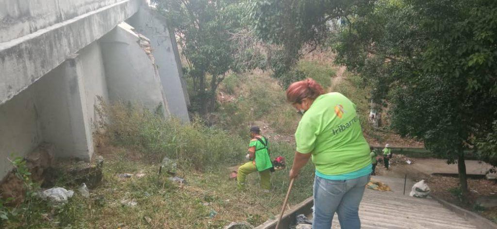 """Operativo de limpieza fue desplegado en la """"Concha Acústica"""" de Barquisimeto - febrero 4, 2021 10:10 am - NOTIGUARO - Locales"""