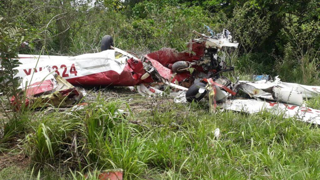 En Bolívar: Aeronave cargada con combustible y alimentos se precipitó, dejando una persona fallecida - abril 26, 2021 8:32 am - NOTIGUARO - Nacionales