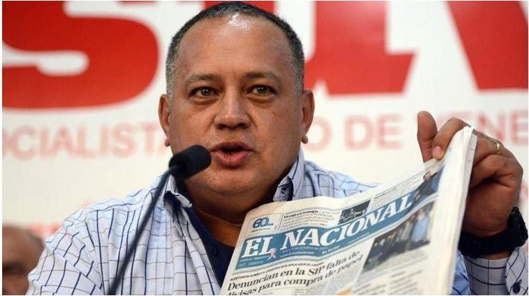 """Cabello a El Nacional: """"Si no pagan en efectivo, tengo que ejecutar los bienes"""" - abril 22, 2021 9:15 am - NOTIGUARO - Nacionales"""