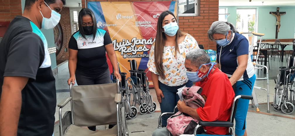 A través del IMDES: 25 familias de Iribarren recibieron ayudas del Alcalde Reyes - abril 23, 2021 7:42 am - NOTIGUARO - Locales