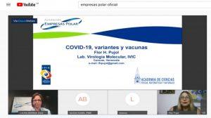 Fundación Empresas Polar promovió la conferencia web COVID-19 variantes y vacunas - abril 30, 2021 11:45 am - NOTIGUARO - INTERÉS SALUDABLE