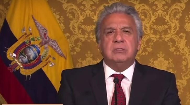 Lenín Moreno rechazó la presencia de Delcy Rodríguez en la Cumbre Iberoamericana - abril 22, 2021 10:10 am - NOTIGUARO - Internacionales