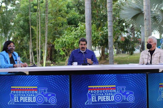 """Maduro ordenó """"regularizar"""" en 60 días la distribución de diésel para el sector agroalimentario - abril 21, 2021 9:34 pm - NOTIGUARO - Economia"""