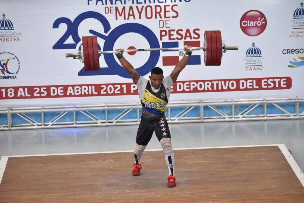 Pesista venezolano Julio Mayora bate récord panamericano en República Dominicana - abril 23, 2021 11:43 am - NOTIGUARO - Deporte