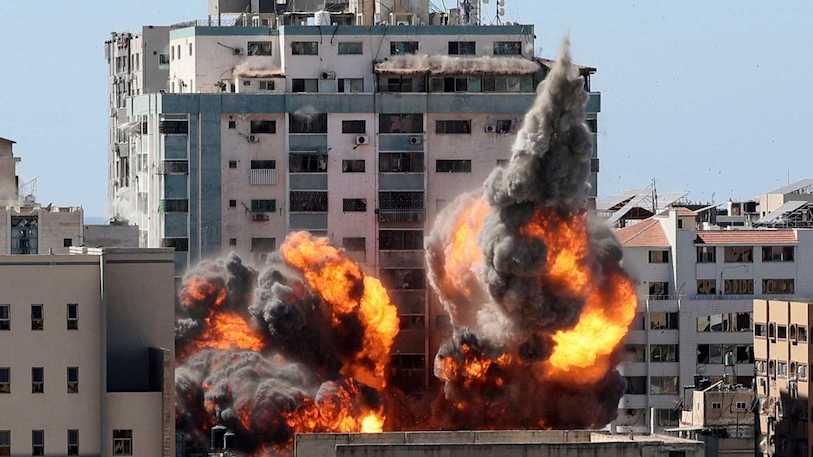 Conflicto palestino-israelí: Intensos bombardeos en Gaza marcan inicio de la segunda semana de violencia - mayo 17, 2021 8:15 am - NOTIGUARO - Internacionales