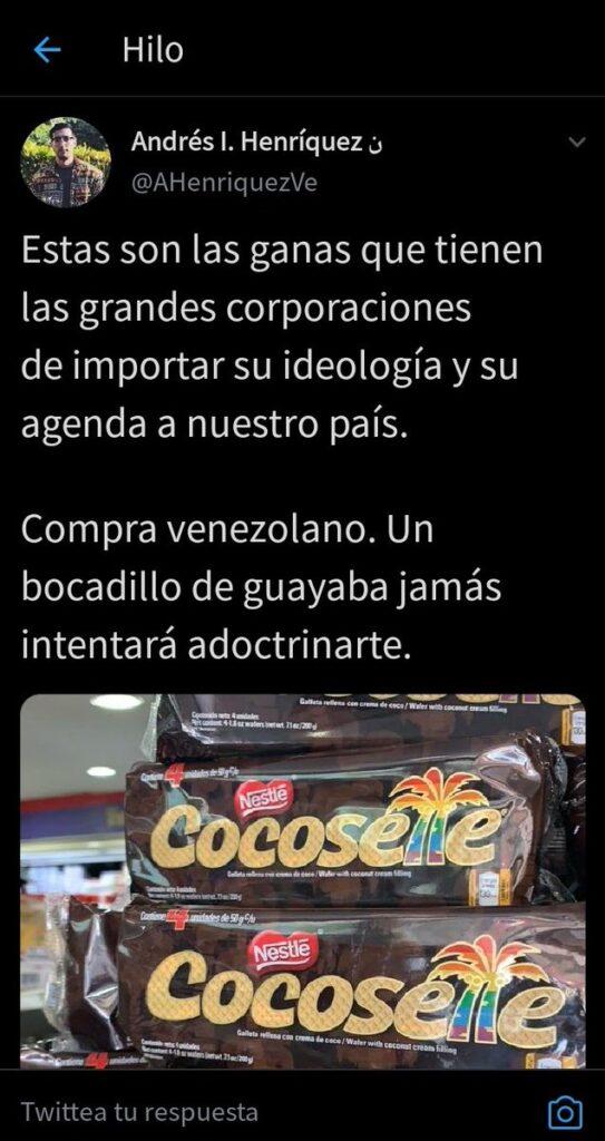 Te presentamos el nuevo empaque de Cocosette con la bandera LGBT que fue tendencia en redes - mayo 30, 2021 11:00 am - NOTIGUARO - Entretenimiento