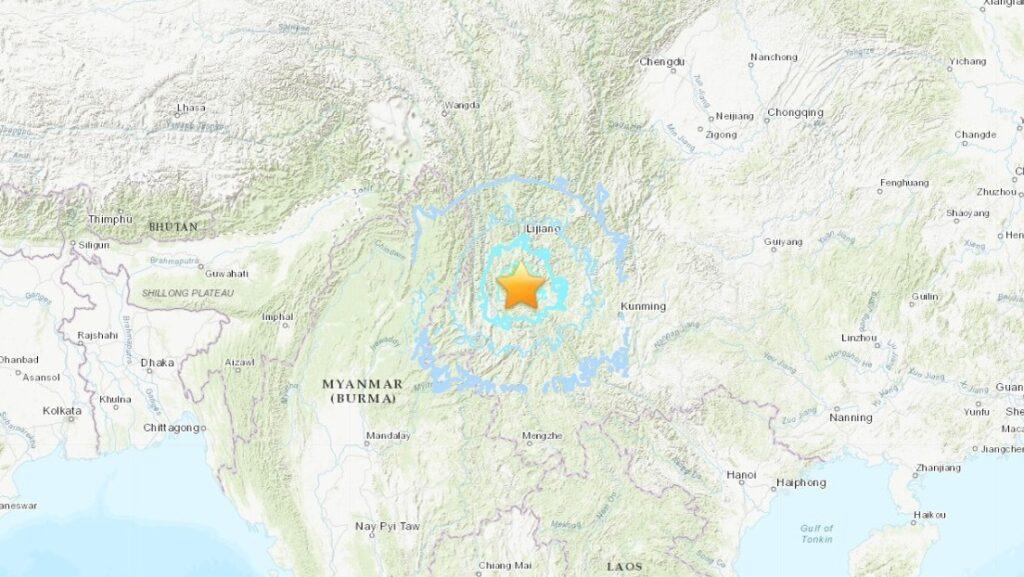 Terremoto de magnitud 6.4 se registró en China este viernes #21May - mayo 21, 2021 10:52 am - NOTIGUARO - Internacionales