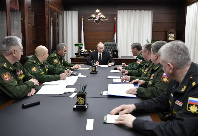 """Putin: """"Les sacaremos los dientes para que no puedan morder, a los que quieren arrancarle algo a Rusia"""" - mayo 20, 2021 11:30 am - NOTIGUARO - Internacionales"""