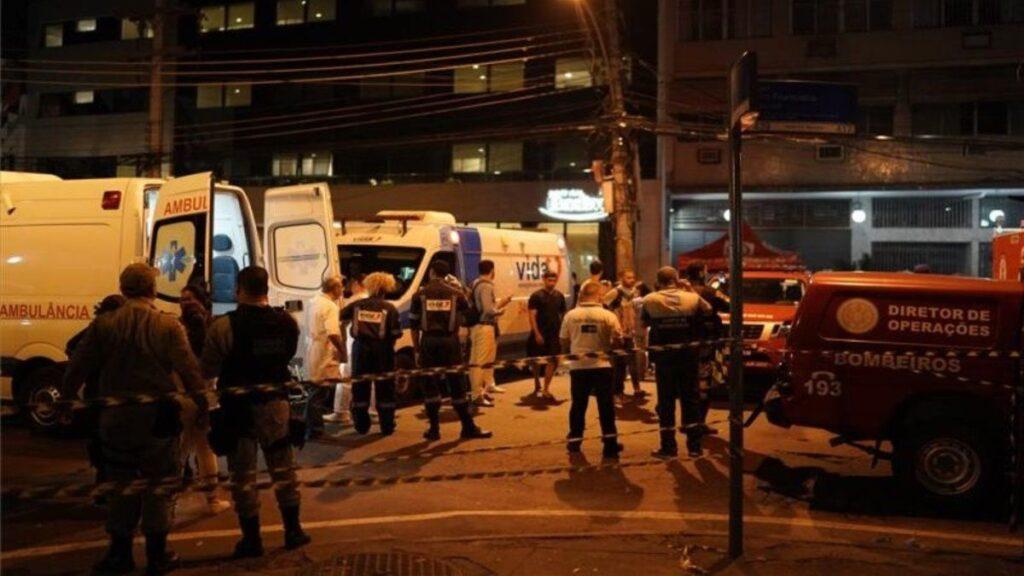 Brasil: Al menos cuatro fallecidos por incendio en área para Covid de un hospital - mayo 29, 2021 10:55 am - NOTIGUARO - Internacionales