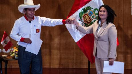 Este domingo #6Jun se decidirá la presidencia de Perú, por un margen mínimo, entre los 2 candidatos - junio 6, 2021 7:00 am - NOTIGUARO - Internacionales