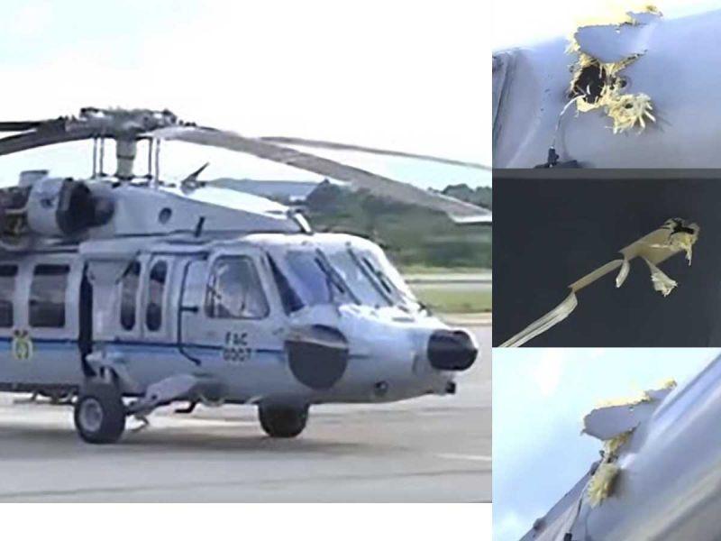 Helicóptero donde iba el presidente de Colombia, Iván Duque, fue atacado con disparos - junio 25, 2021 11:16 pm - NOTIGUARO - Internacionales