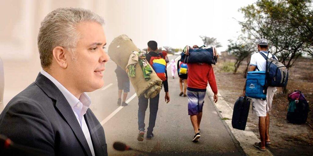 Colombia: Iván Duque reiteró su compromiso con la protección de migrantes venezolanos - junio 21, 2021 12:39 am - NOTIGUARO - Internacionales