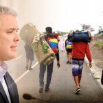 Colombia: Iván Duque reiteró su compromiso con la protección de migrantes venezolanos