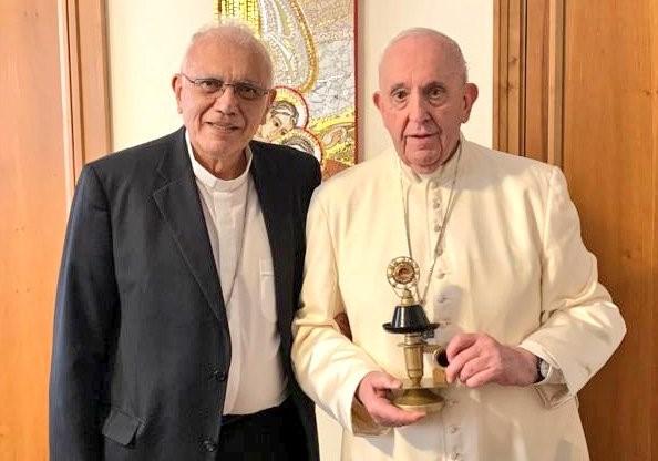 En el Vaticano: Papa Francisco recibió reliquias del Beato José Gregorio Hernández - junio 5, 2021 9:20 am - NOTIGUARO - Nacionales