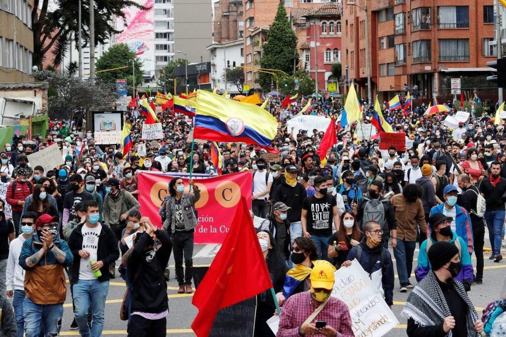 Colombia: El Comité Nacional del Paro suspende unilateralmente los diálogos con las autoridades - junio 6, 2021 11:56 pm - NOTIGUARO - Internacionales