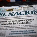 Diario El Nacional, volverá a tener edición impresa a partir del 3 agosto