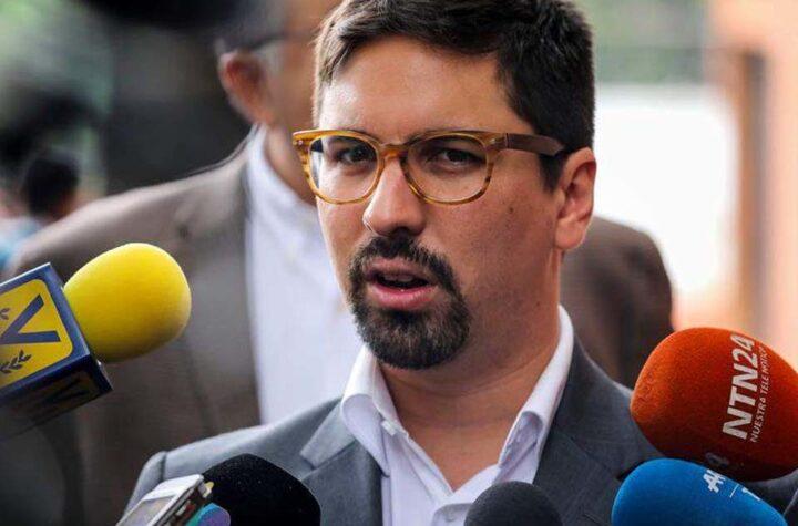 """MP imputará cargos a Freddy Guevara por """"vinculación con grupos paramilitares"""" - julio 13, 2021 9:15 am - NOTIGUARO - Tarek William Saab."""