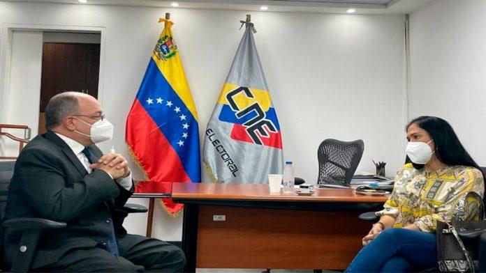 Táchira: Gob. Laidy Gómez solicitó apoyo del CNE para realizar primarias - julio 21, 2021 10:45 am - NOTIGUARO - Nacionales