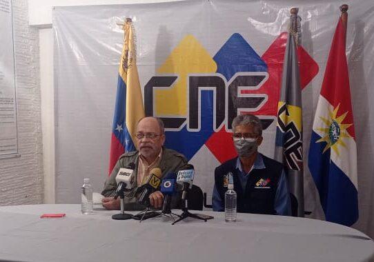 En Yaracuy: Presidente del CNE supervisó el cumplimiento del cronograma electoral - julio 28, 2021 9:24 pm - NOTIGUARO - Nacionales