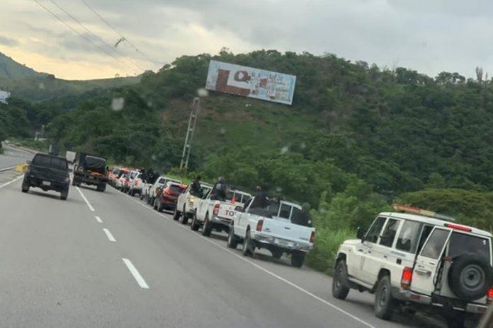 Por segundo día consecutivo: Continuaron los enfrentamientos en Las Tejerías - julio 2, 2021 9:30 am - NOTIGUARO - Nacionales