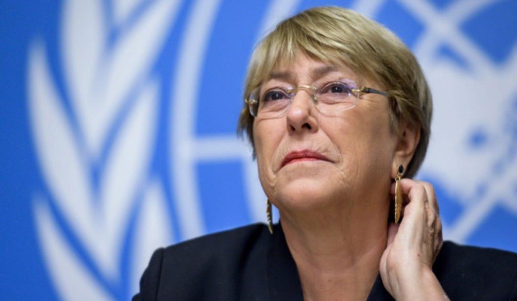 """Michelle Bachelet pidió que jornadas de inmunización contra la COVID-19 sean """"accesibles para todos en Venezuela"""" - julio 6, 2021 11:45 am - NOTIGUARO - Internacionales"""