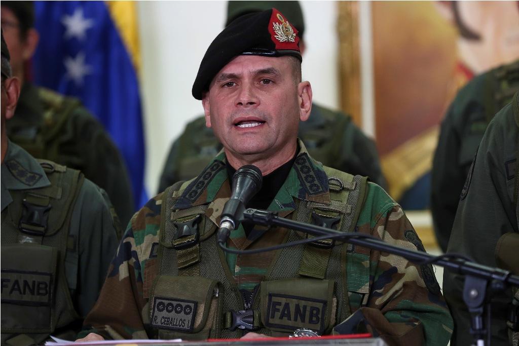 Luego de 4 años, Remigio Ceballos entrega oficialmente su cargo como jefe de la Ceofanb - julio 11, 2021 11:00 am - NOTIGUARO - Nacionales