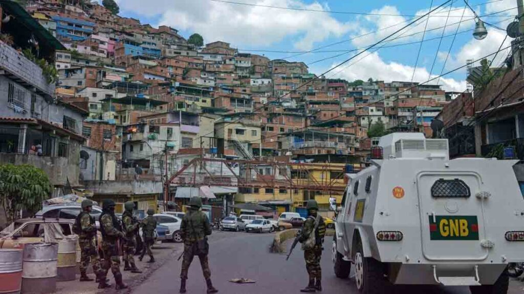 Enfrentamiento entre banda de la Cota 905 y comisiones del CICPC deja saldo de tres fallecidos - julio 8, 2021 9:30 am - NOTIGUARO - Nacionales