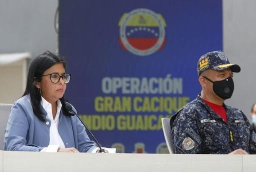 Delcy Rodríguez: La CIA y Colombia están vinculados con bandas criminales de la Cota 905 - julio 11, 2021 9:30 am - NOTIGUARO - Nacionales