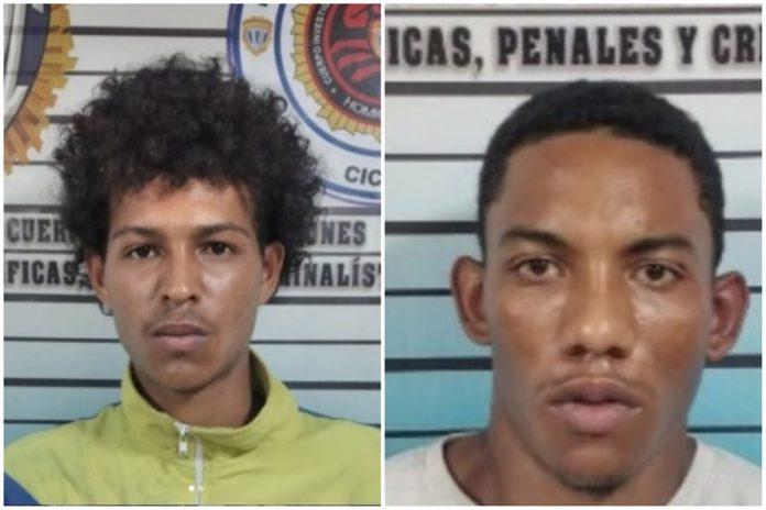 """En Caracas: Detienen a dos integrantes de la banda de """"El Koki"""" por homicidio - julio 16, 2021 9:40 am - NOTIGUARO - Nacionales"""