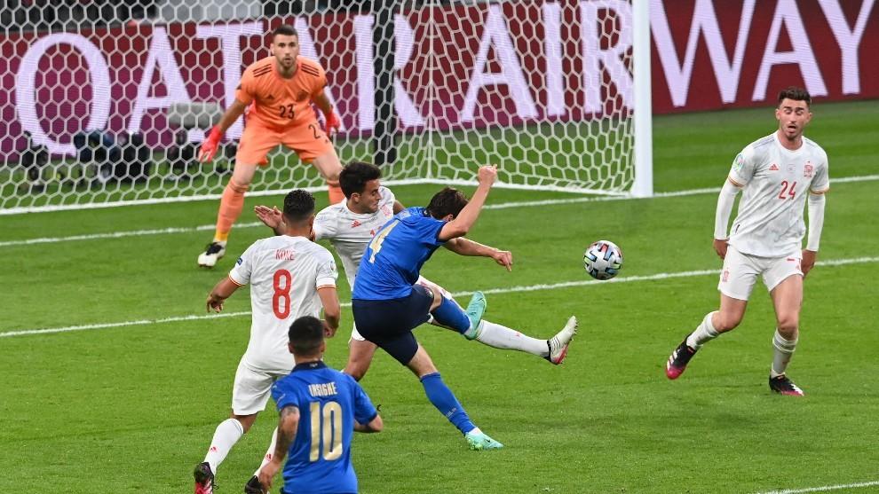 Morata falló su penal dejando a España fuera de la Eurocopa - julio 6, 2021 8:21 pm - NOTIGUARO - Deporte
