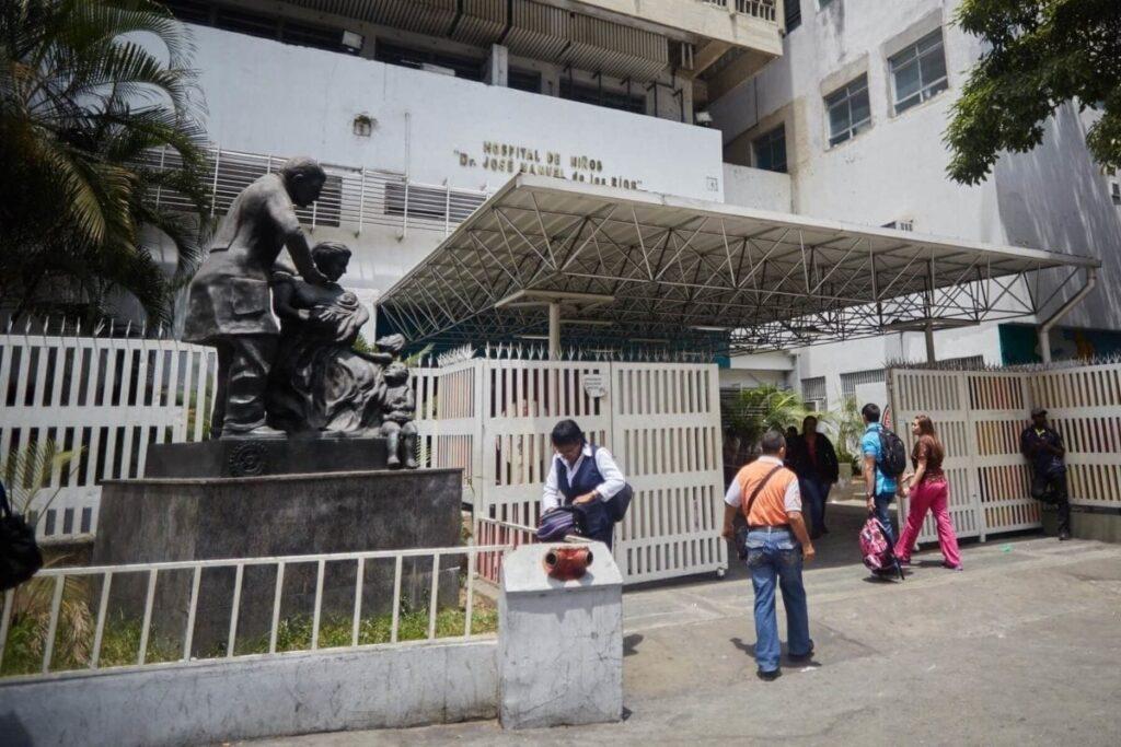 Caracas: Denuncian que hospital J.M. de los Ríos no tiene insumos para atender a pacientes - julio 21, 2021 9:45 am - NOTIGUARO - Nacionales