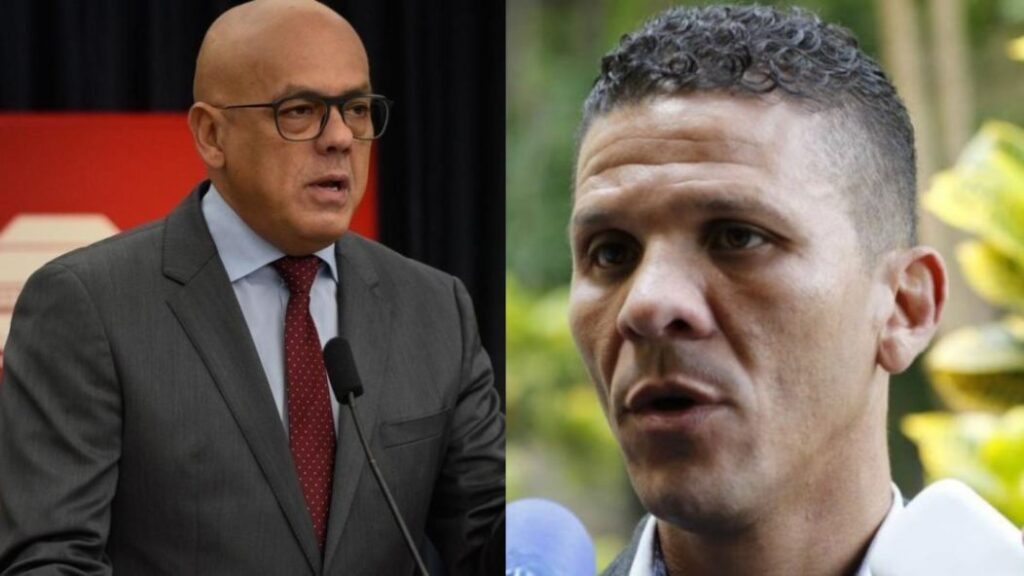 """""""Hasta aquí llegaste"""": Jorge Rodríguez acusa a Gilber Caro de """"organizar enfrentamientos"""" en la Cota 905 - julio 14, 2021 9:00 am - NOTIGUARO - Nacionales"""