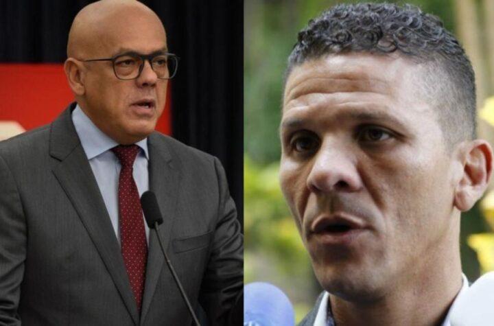 """""""Hasta aquí llegaste"""": Jorge Rodríguez acusa a Gilber Caro de """"organizar enfrentamientos"""" en la Cota 905 - julio 14, 2021 9:00 am - NOTIGUARO - Cota 905"""